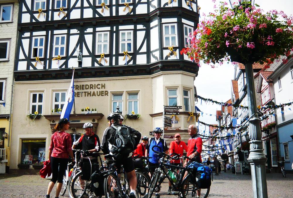 Die Radtouren der Tourist-Information Witzenhausen am Donnerstag